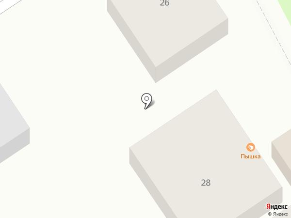 Продуктовый магазин №5 на карте Белгорода