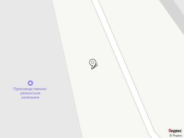 Производственно-ремонтная компания на карте Белгорода