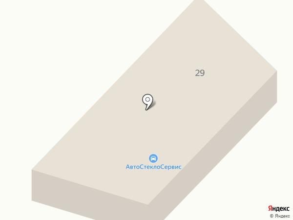Установочный центр автостекол на карте Белгорода