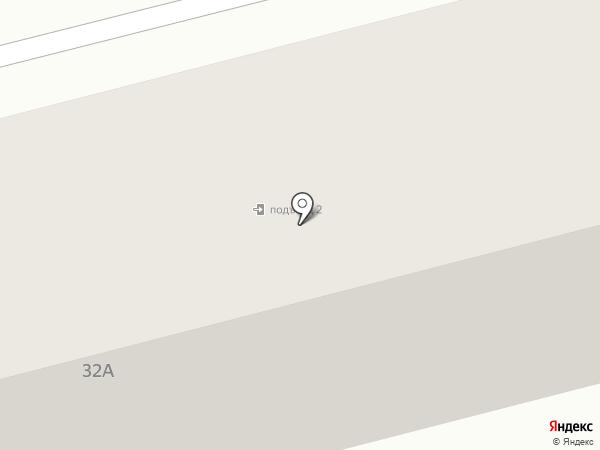 Библиотека №5 на карте Белгорода