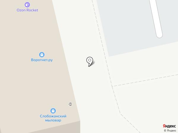 Кабельные системы на карте Белгорода