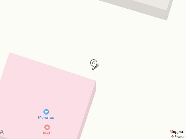 Врачебная амбулатория на карте Новосадового