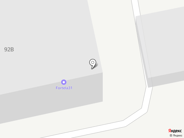 Fortela на карте Белгорода