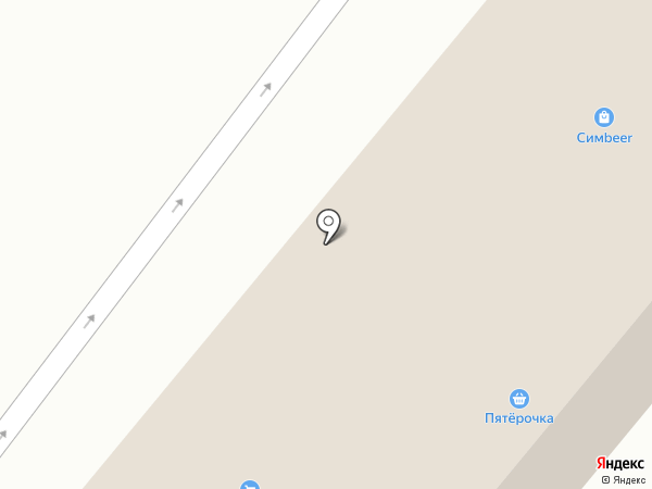 Красное & Белое на карте Новосадового