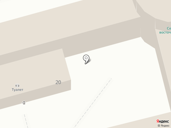 Бесплатный общественный туалет на карте Звенигорода