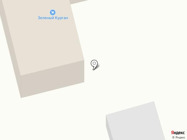 Зеленый курган на карте Истры
