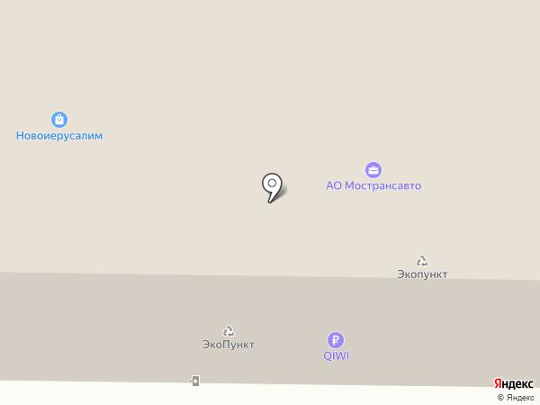 Таши Орто на карте Истры