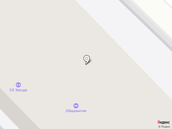Училище олимпийского резерва №2 на карте Звенигорода