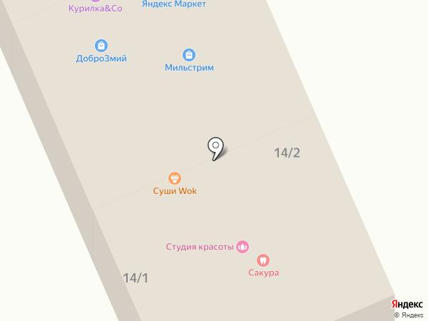 Дедовский пекарь на карте Северного