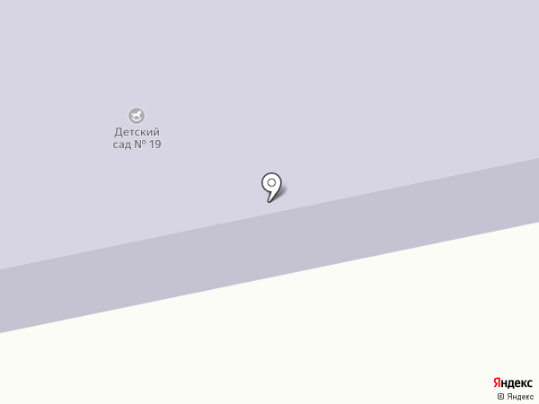 Детский сад №19 на карте Часцов