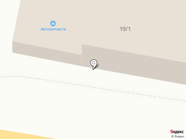 Автокомплекс на карте Звенигорода
