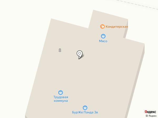 Магазин фастфудной продукции на карте Звенигорода