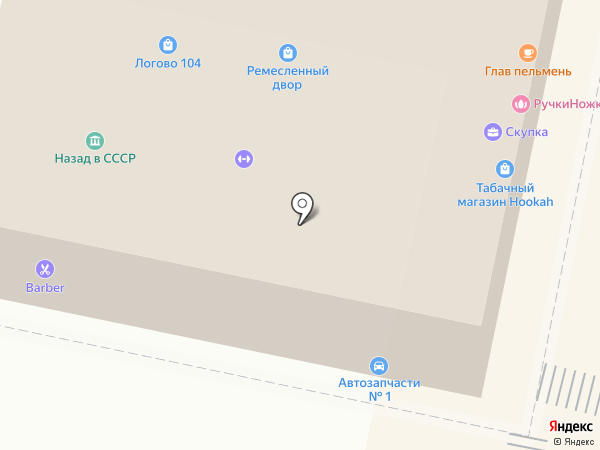 Автозапчасти на карте Звенигорода