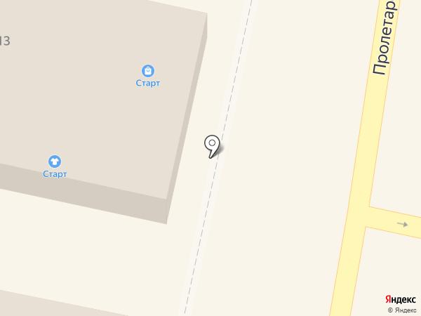 Магазин одежды на карте Звенигорода