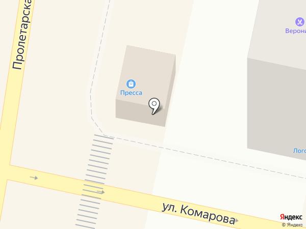Пресса Юго-Запада на карте Звенигорода