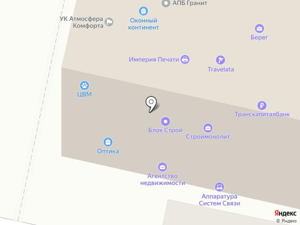 Клиника ветеринарной медицины г. Звенигород на карте Звенигорода