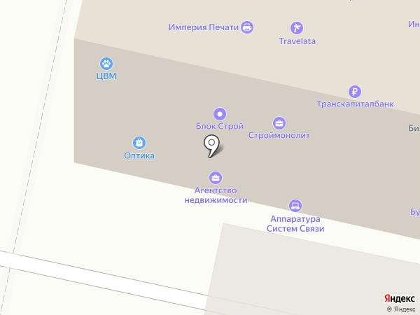 Салон оптики на карте Звенигорода