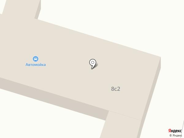Автомойка на карте Звенигорода