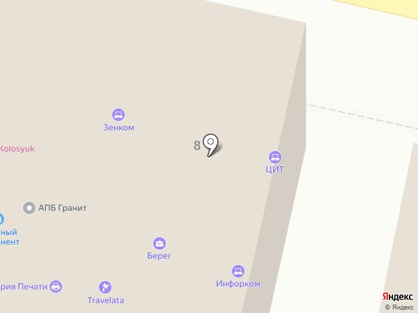 Матрёшка на карте Звенигорода