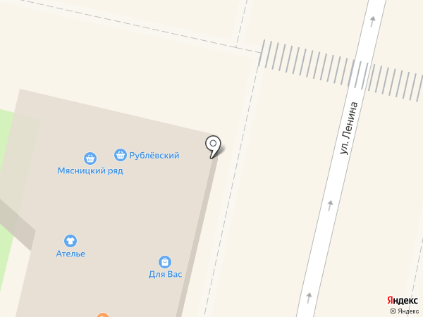 Рублёвский на карте Звенигорода