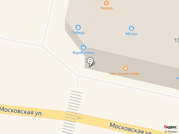 Верный на карте Звенигорода