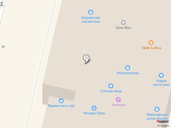 Столовая на карте Звенигорода