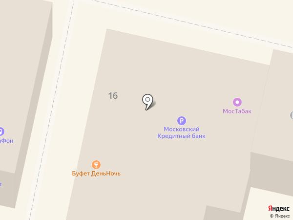 Связной на карте Звенигорода