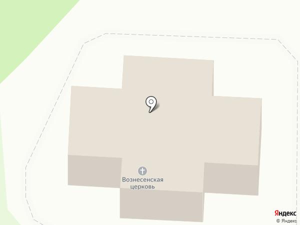 Храм-Часовня Вознесения Господня на карте Истры