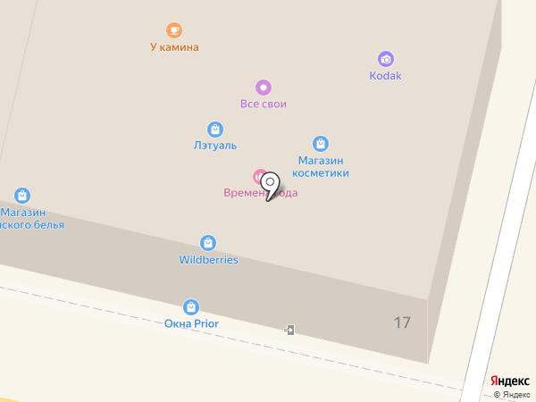Maribel на карте Звенигорода