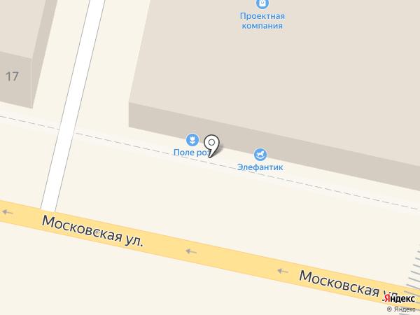 Цветочный магазин на карте Звенигорода