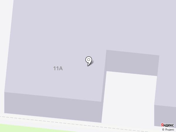 Детский сад № 52, Ромашка на карте Истры
