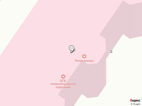 Скорая медицинская помощь на карте Звенигорода