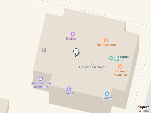 Золотая Рыбка на карте Звенигорода