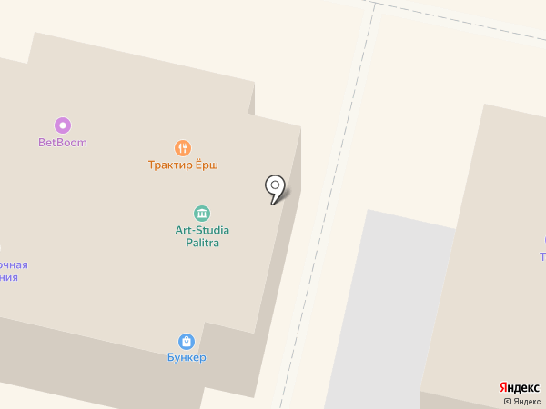 Лютик на карте Звенигорода