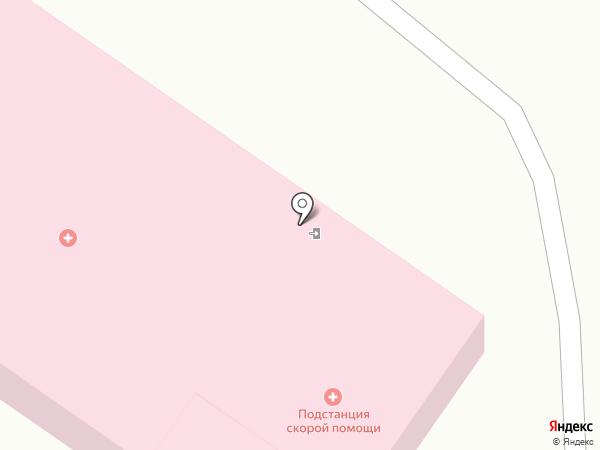 Одинцовская станция скорой медицинской помощи, ГБУЗ на карте Звенигорода