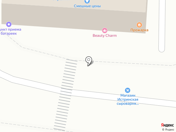 Магазин кондитерских изделий и чая на карте Истры