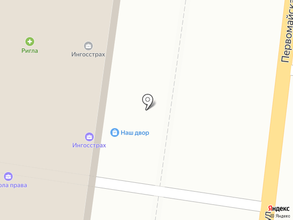 Столетник на карте Истры