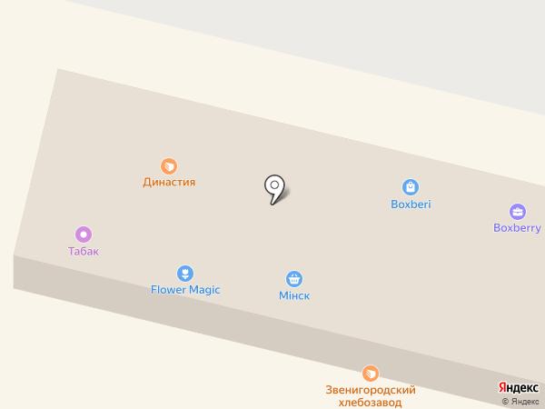 Пятница на карте Звенигорода
