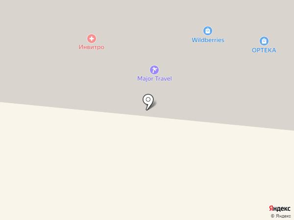 ВСК, САО на карте Истры