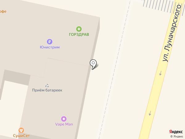 Избёнка на карте Звенигорода