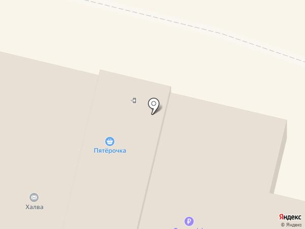 Пятерочка на карте Звенигорода