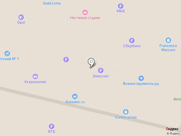 Звенигородское городское экскурсионное бюро на карте Звенигорода