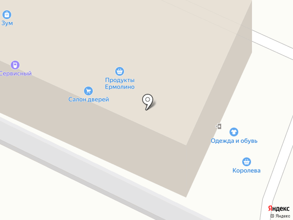 Книжный магазин на карте Звенигорода
