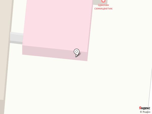 Гамма на карте Истры