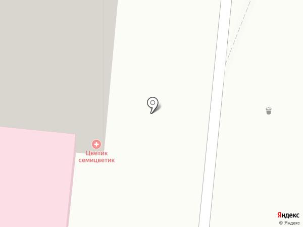 ВетКлиник на карте Истры