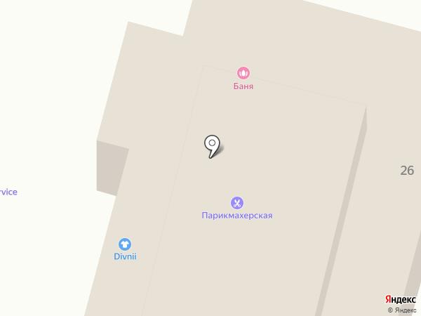 Авторемонтник на карте Звенигорода