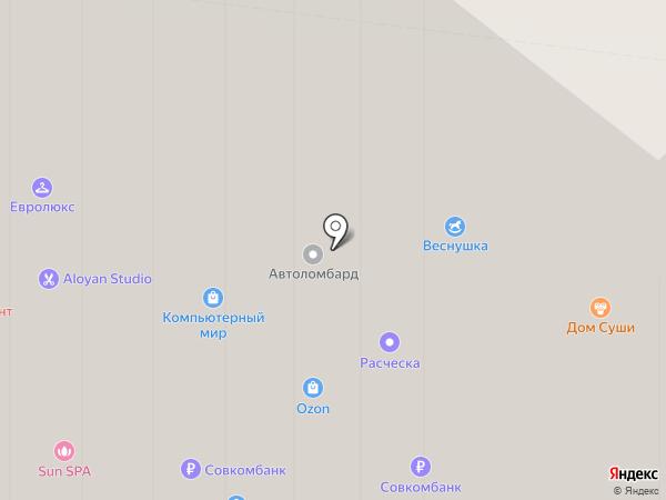 Компьютерный мир на карте Истры