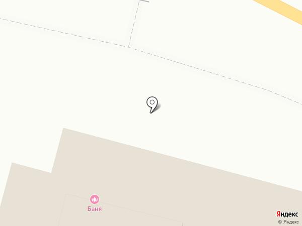Киоск бытовых услуг на карте Звенигорода