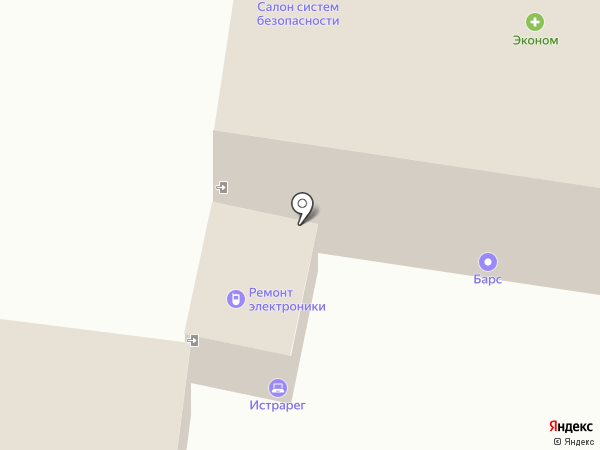 Истра на карте Истры