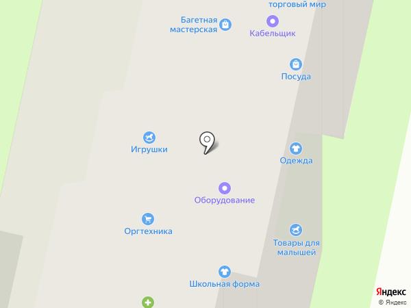 ЛИМБ, МУП на карте Истры